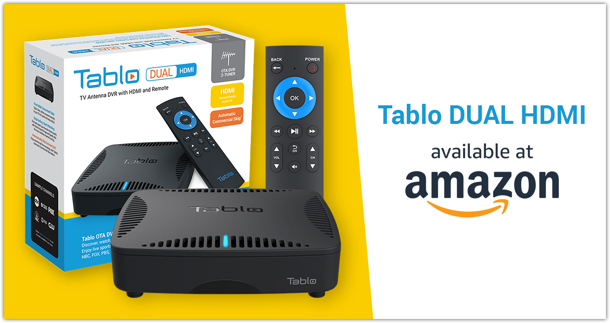 Tablo DUAL HDMI on Amazon