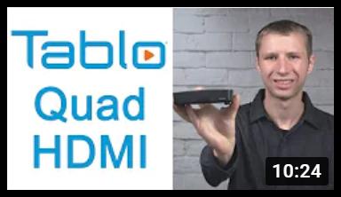 Tablo QUAD HDMI Antenna Man Review