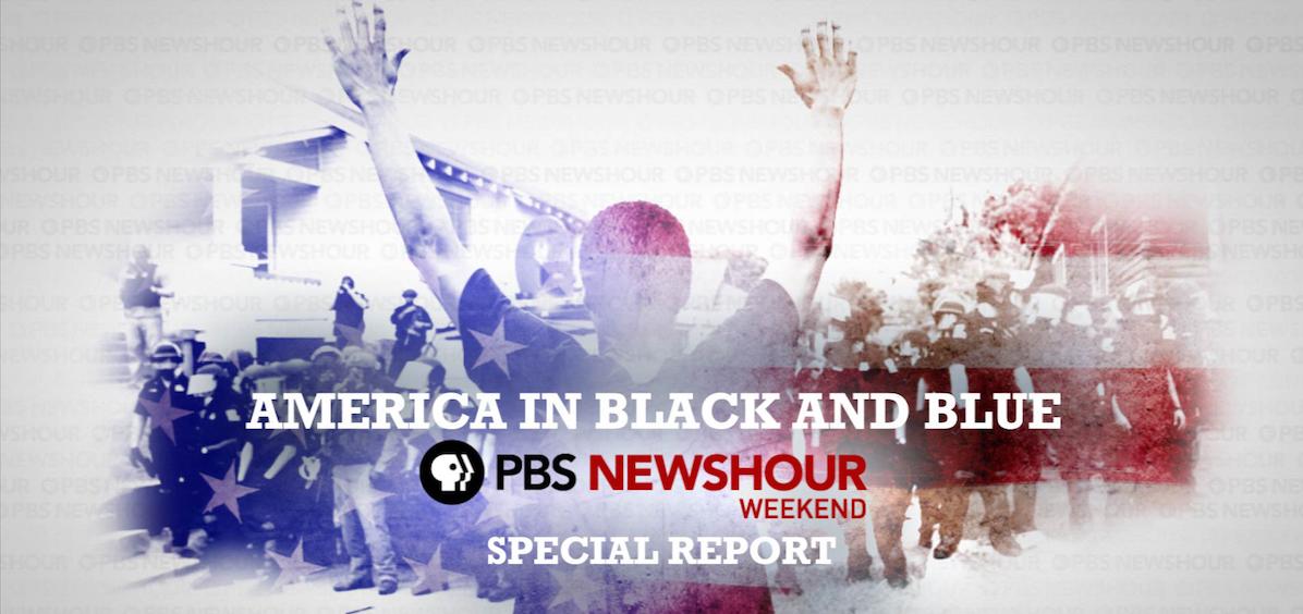 America Black Blue