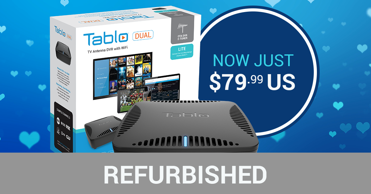 Refurbished Tablo DUAL LITE $79.99 USD