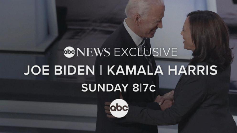 2020 Biden Harris interview