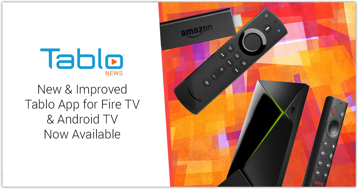 Tablo Fire TV Android TV