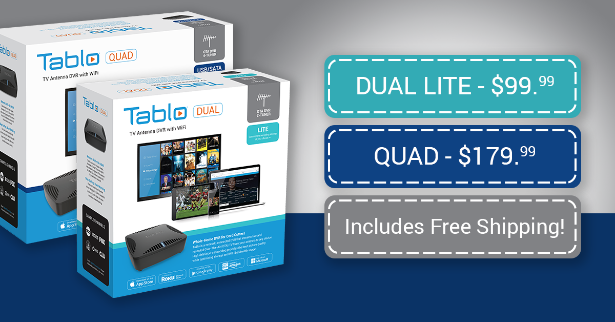 Tablo DUAL LITE & QUAD Sale