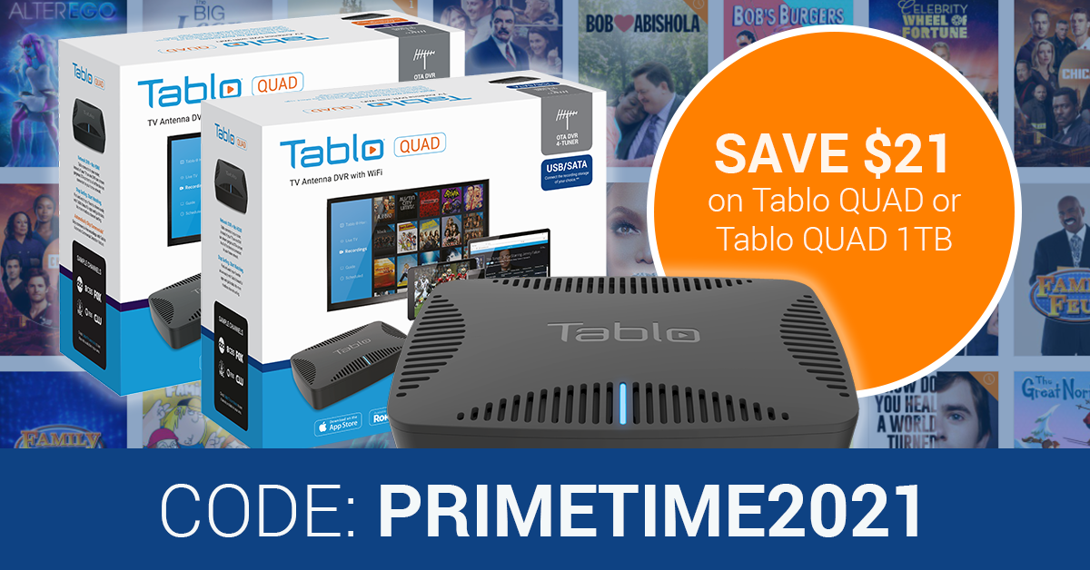 Tablo QUAD Prime Time Sale