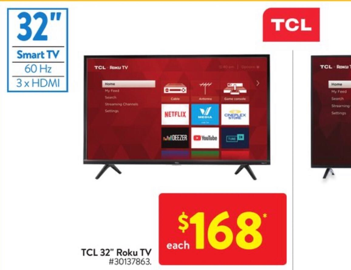 Small TCL TV