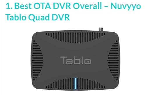 Best OTA DVR