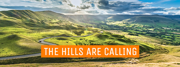 THE HILLS ARE CALLING