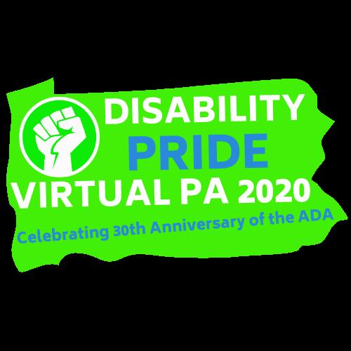 Disability Pride Virtual PA logo