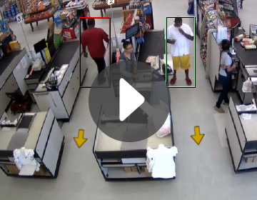 intuVision VA Wrong Way detector in use - click to view video.