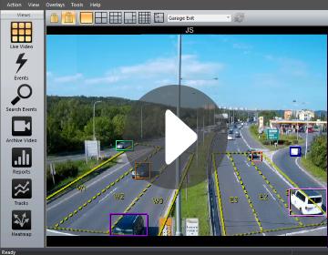 intuVision Edge Traffic video spotlight.