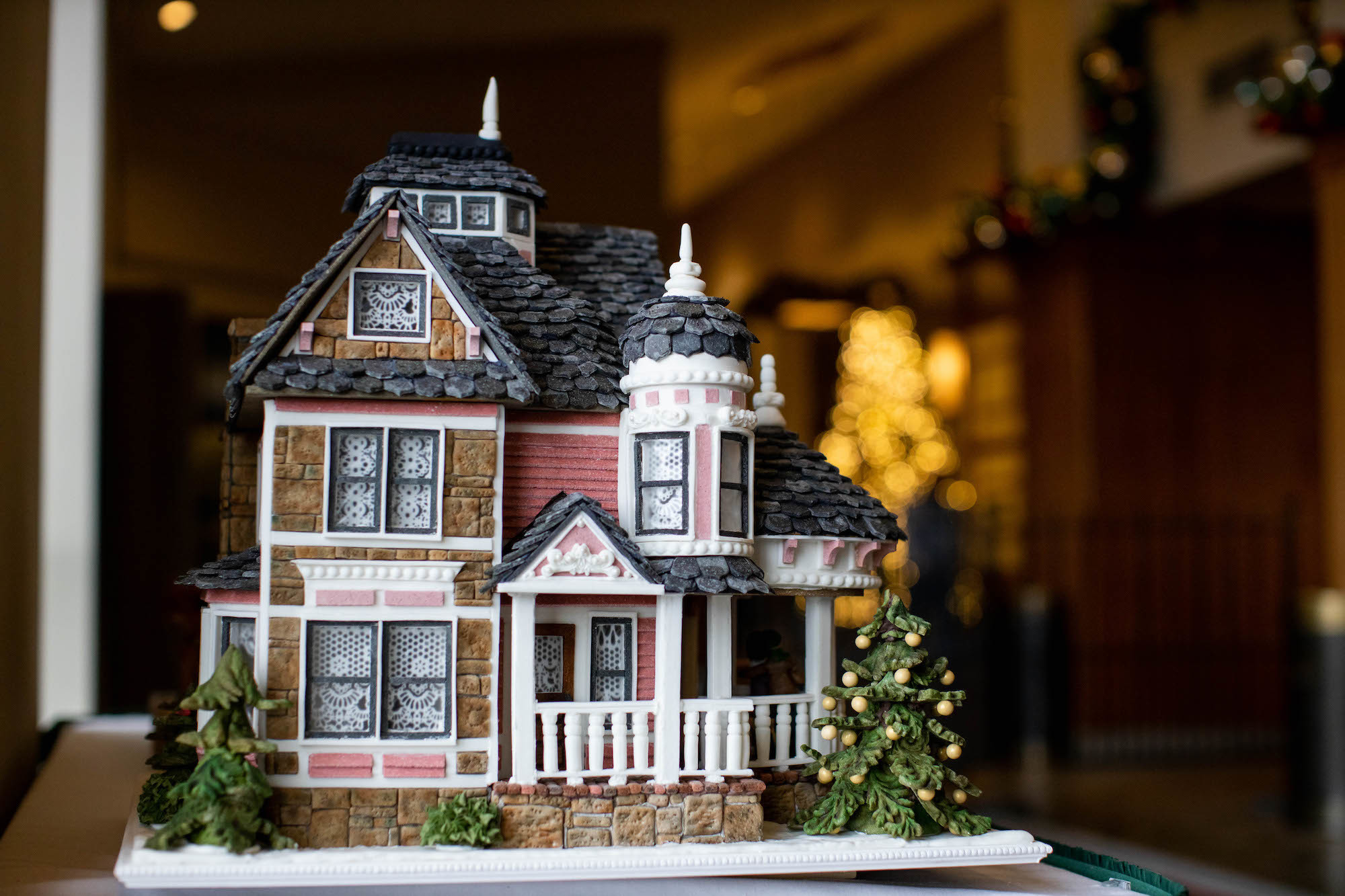 Gingerbread house featured at The Omni Grove Park Inn in 2019 | Photo provided