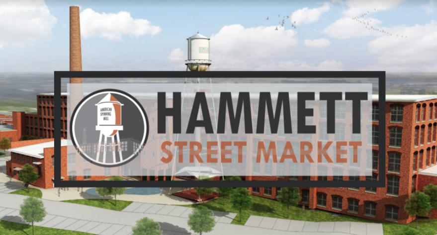 Map of Hammett Street Market's location courtesy of SVN | BlackStream