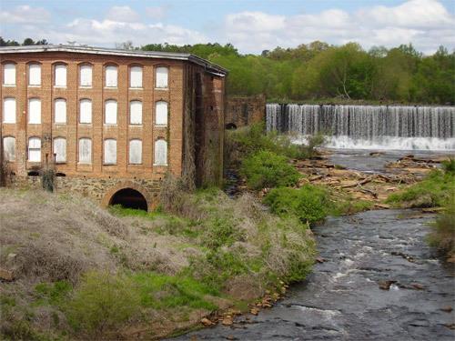 Conestee Mill + Dam
