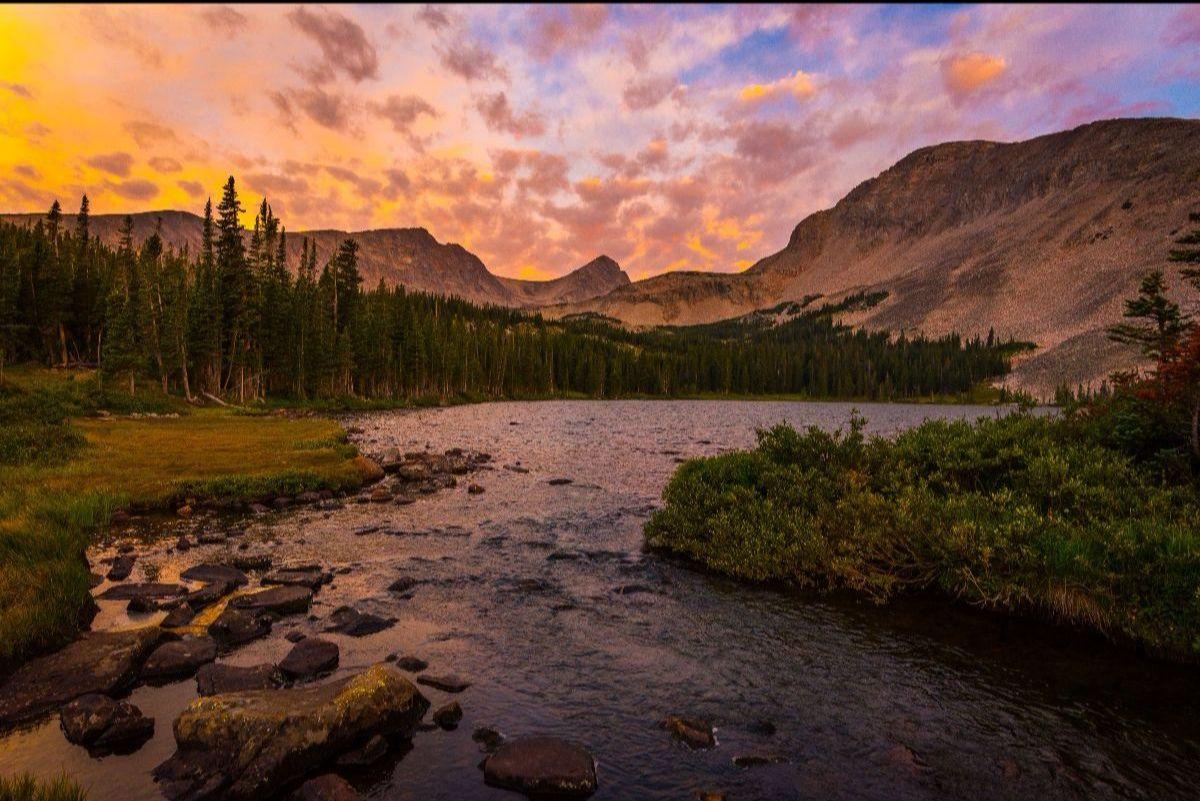 Mountain landscape- Photo by Gary Kochel, Bridget Kochel