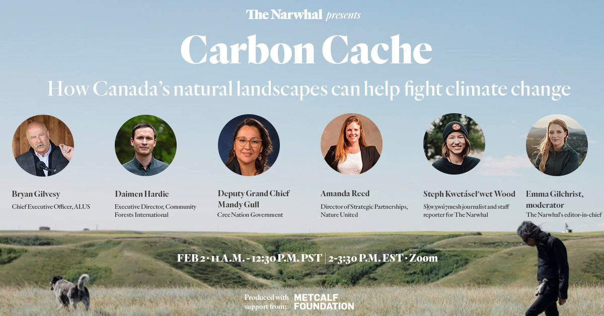 Carbon Cache: How Canada's Natural Lanscapes can help fight climate change