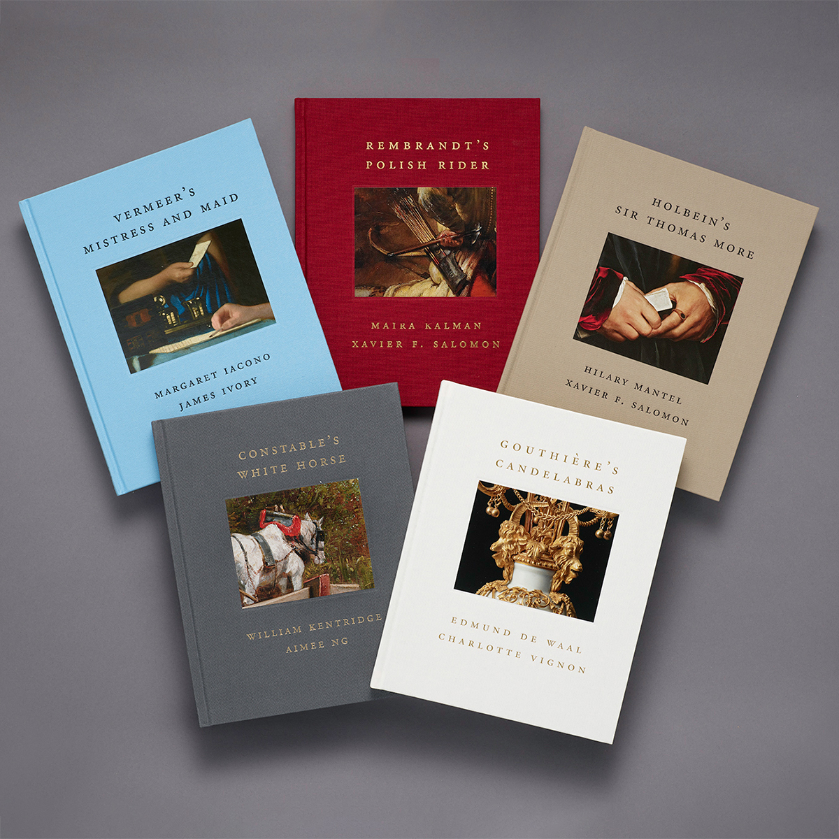 Photograph of Frick Diptych book series