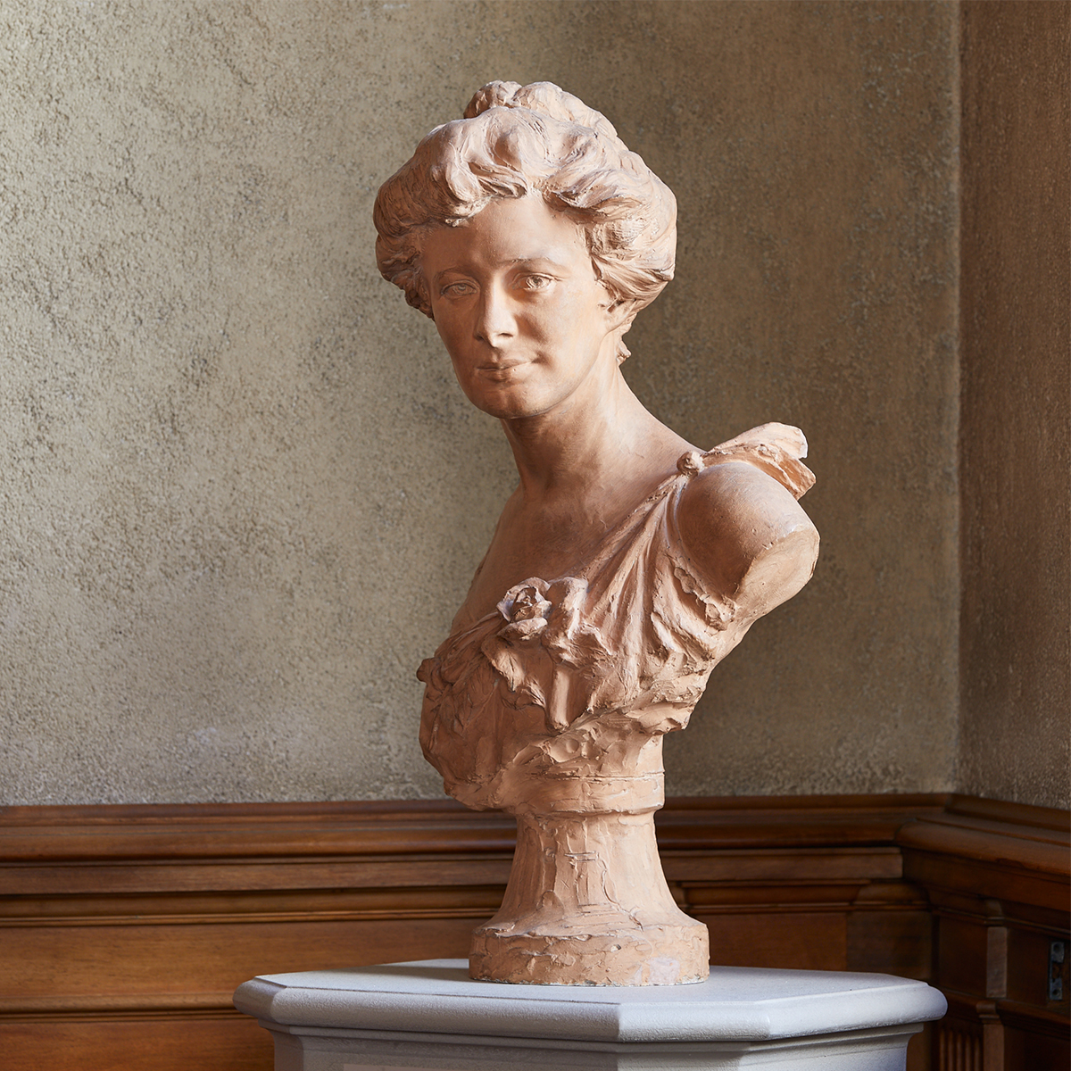 Bust of Helen Clay Frick