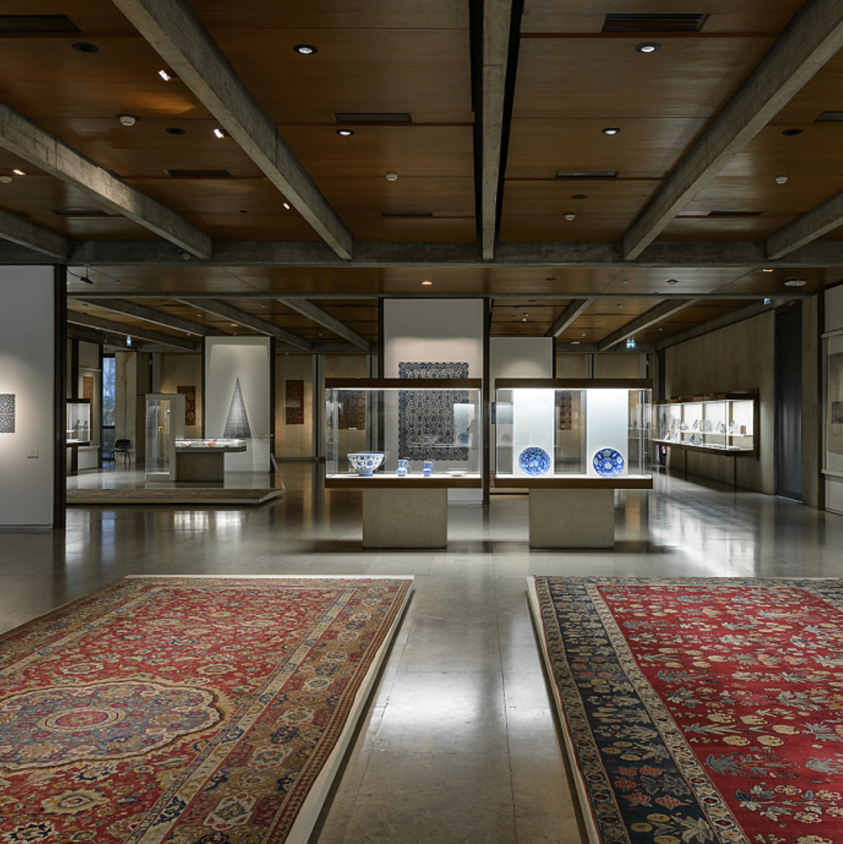 Installation view of the Calouste Gulbenkian Museum