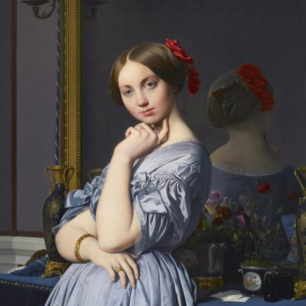 Jean-Auguste-Dominique Ingres, Comtesse d'Haussonville