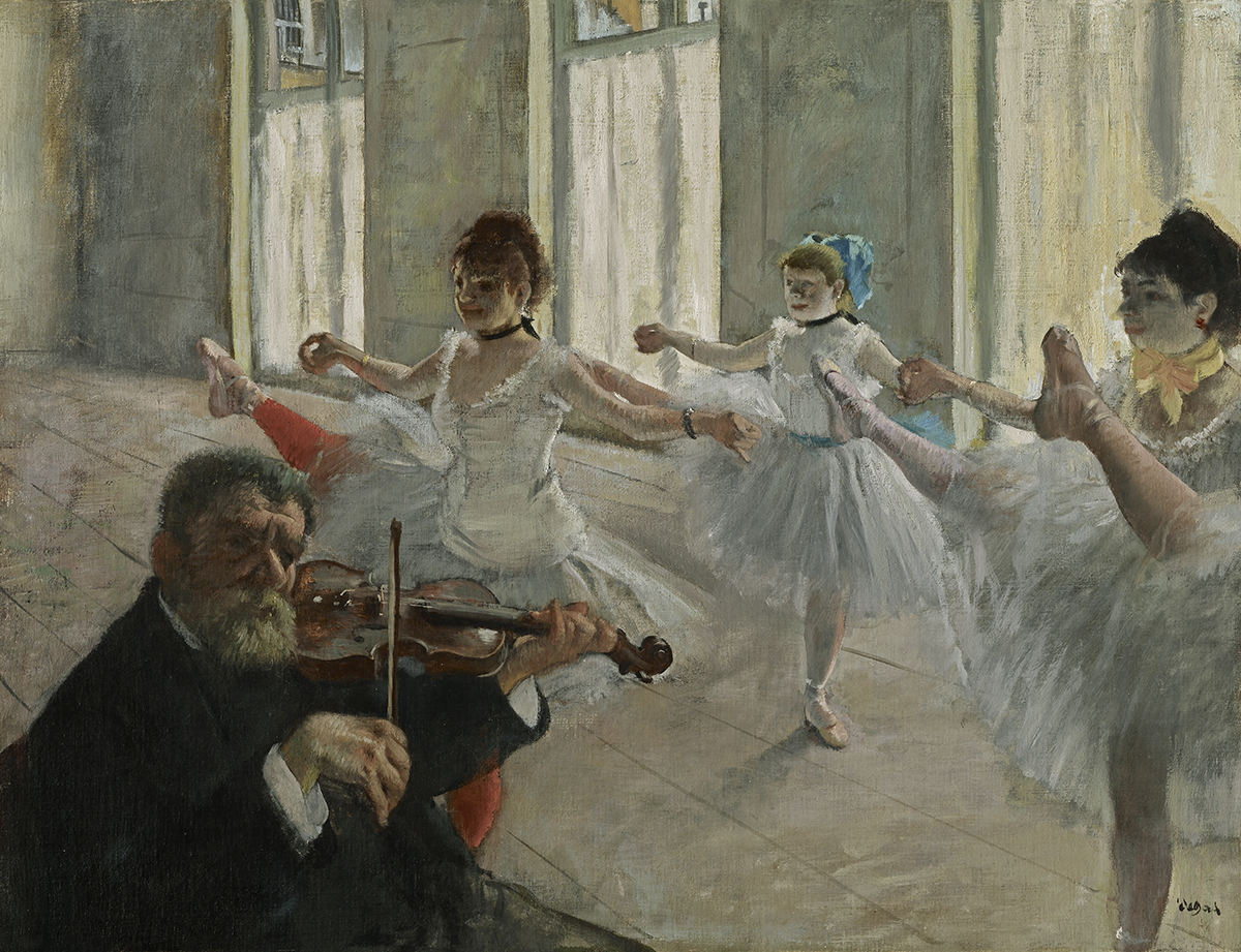 Edgar Degas, The Rehearsal