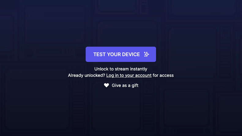 TEST YOUR DEVICE