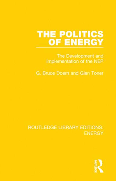 The Politics of Energy Description