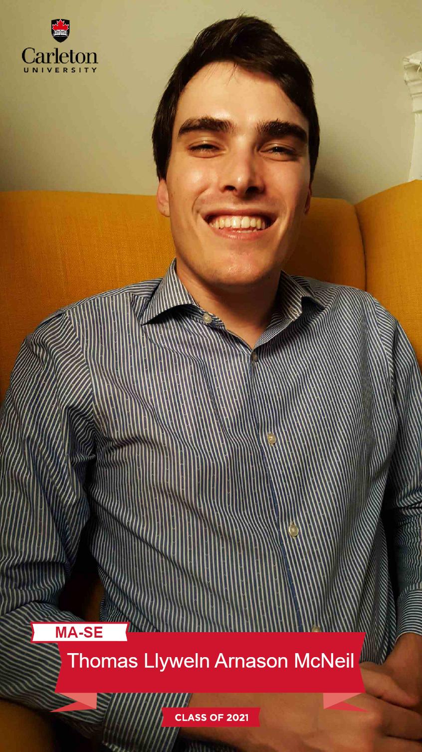 Mohammad Salah Uddin. MA-SE graduate, class of 2021