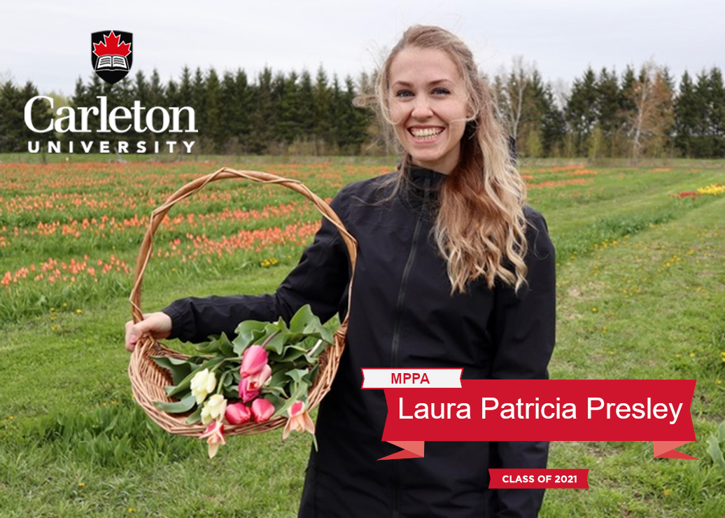 Laura Patricia Presley. MPPA graduate, class of 2021