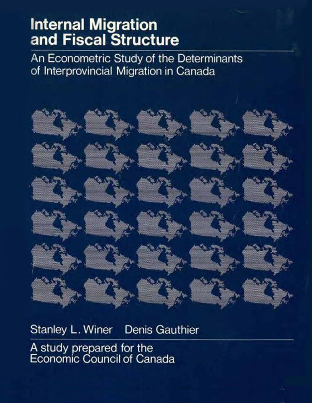 Internal Migration and Fiscal Structure: An Econometric Study of the Determinants of Inter- Provincial Migration in Canada