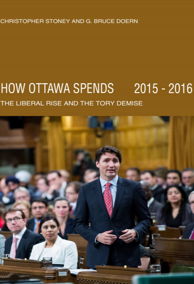 How Ottawa Spends: The Liberal Rise and the Tory Demise 2015-2016