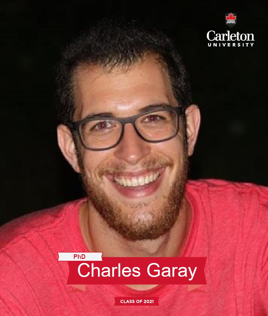 Charles Garay. PhD graduate, class of 2021
