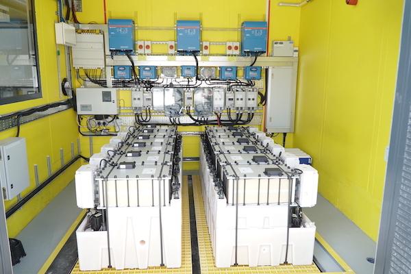 Redflow batteries at Swansea University in Britain
