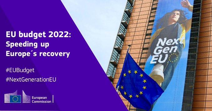 Προϋπολογισμός της ΕΕ για το 2022: Επιτάχυνση της ανάκαμψης της Ευρώπης και πρόοδος προς ένα πράσινο, ψηφιακό και ανθεκτικό μέλλον