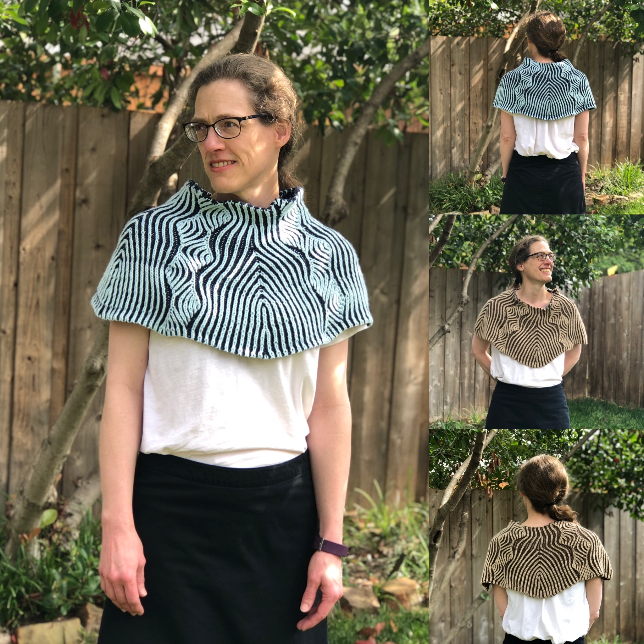 Groovy Waves Brioche Capelet