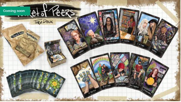 Pocket of Peers Tarot by Jamie Sawyer