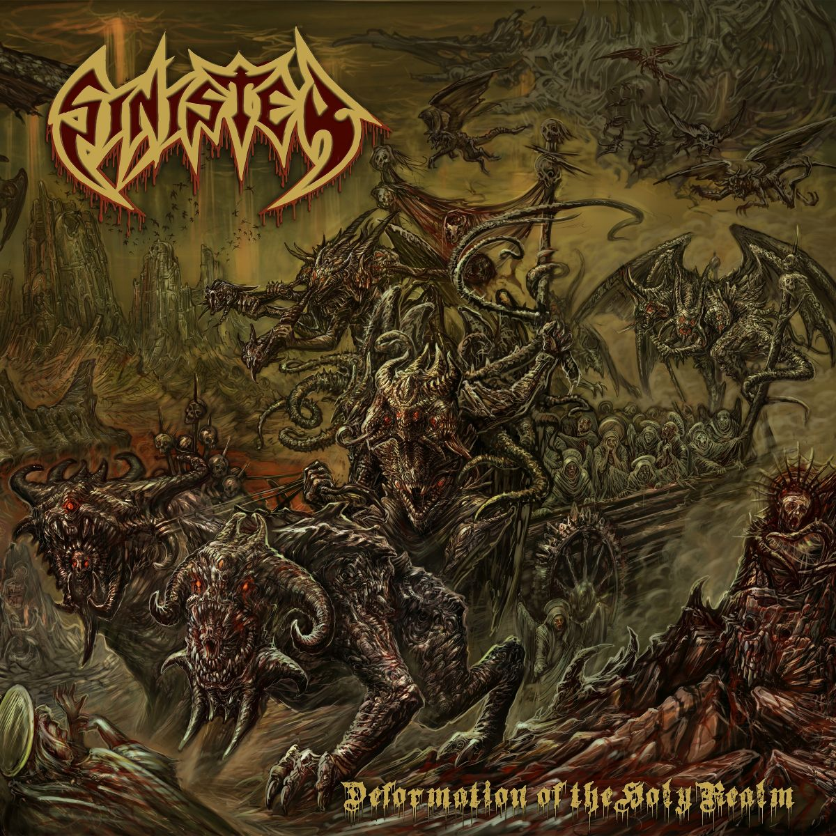 Sinister - Deformation Of The Holy Realm - Frontcover