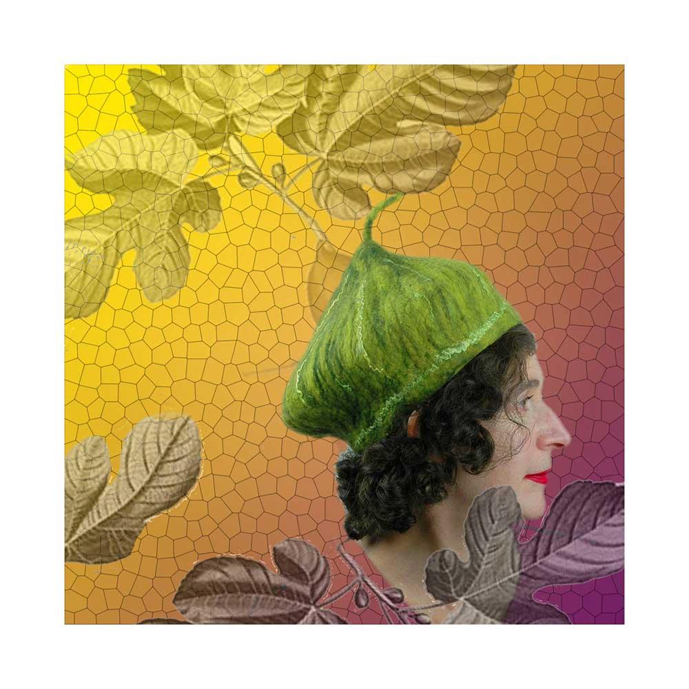 Green Fig Beret