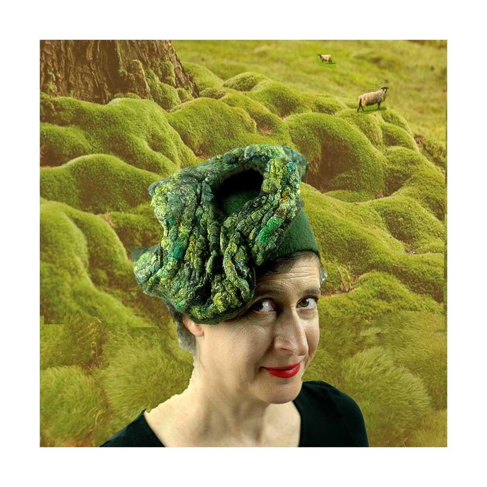 Mossy Green Pillbox