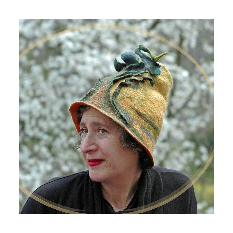Big Oak Tree Yellow Hat