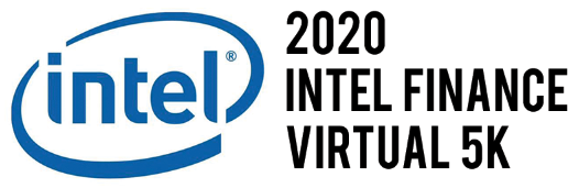 2020 Virtual Intel Finance 5K Logo