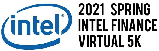 2020 Virtual Intel Spring Finance 5K Logo