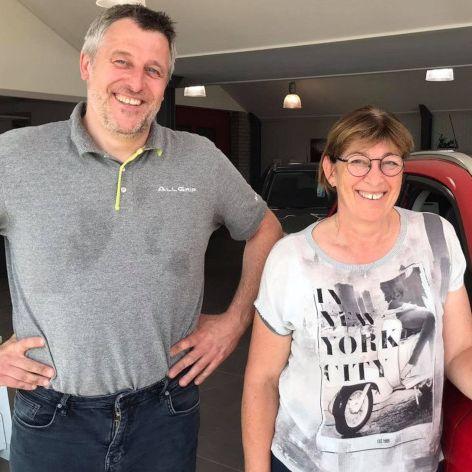 Vincent Brisbois et Brigitte Meura   Garage V. Brisbois à Barvaux