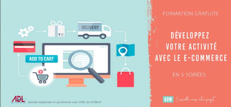 Développez votre activité avec le e-commerce