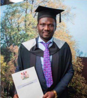 Anugwom graduating