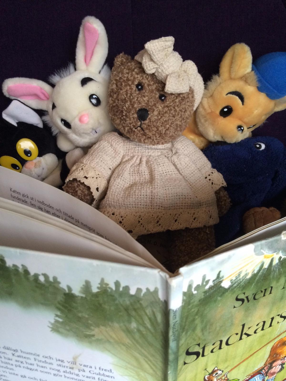 Gosedjur och en barnbok