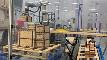 GTRIs robot palletization system