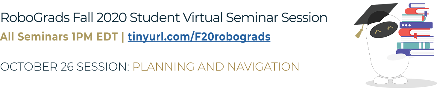 Robograds Virtual Seminar Logo
