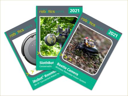 2021 Robotics Week Trading Cards