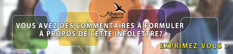 Commentaires - Albatros Drummondville