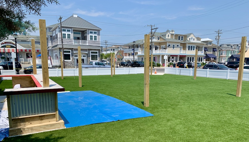 Synthetic Turf install in Jersey